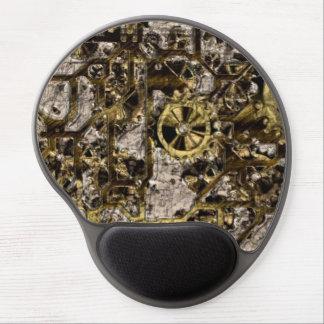 Metal Steampunk Gel Mouse Pad