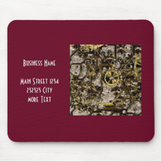 Metal Steampunk Mouse Pad