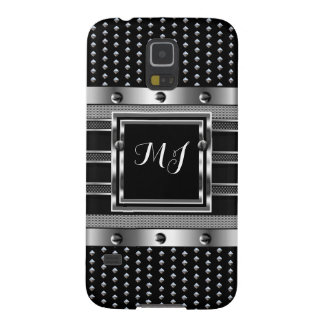 Metal Studs look Metal look Chrome Men's Case For Galaxy S5