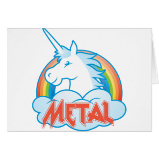 metal-unicorn card