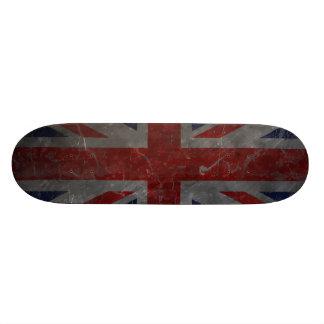 Metal Vintage Union Jack Flag 18.1 Cm Old School Skateboard Deck