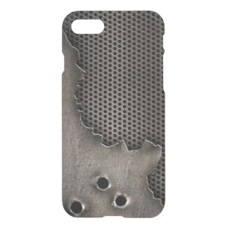 Metal with bullet holes background iPhone 8/7 case