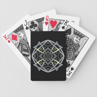 Metal Works - Medallian Bicycle Playing Cards