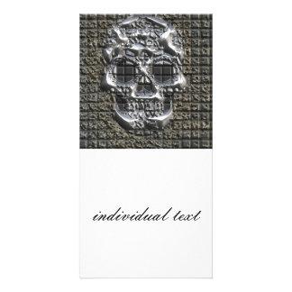 MetalArt Skull Picture Card