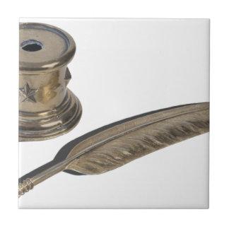 MetalFeatheredPenHolder030313.png Ceramic Tiles