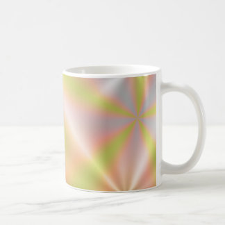 Metalic look colorful mug