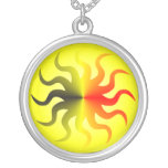 Metalic Sun Necklace