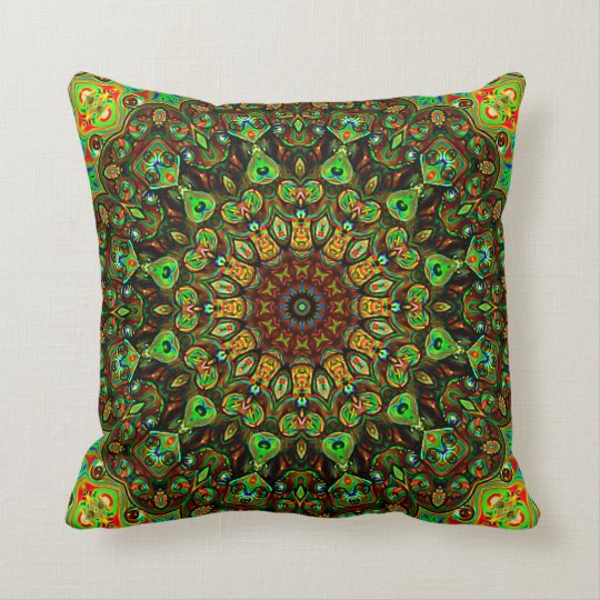 Metalitia Mandala Throw Cushion