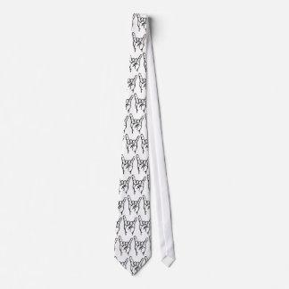 Metalkat Horns Tie