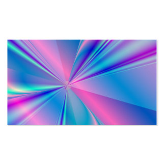 Metallic abstract fractal design pack of standard business cards