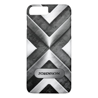 Metallic Armor with Name Plate - Military Pattern iPhone 7 Plus Case