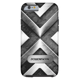 Metallic Armor with Name Plate - Military Pattern Tough iPhone 6 Case