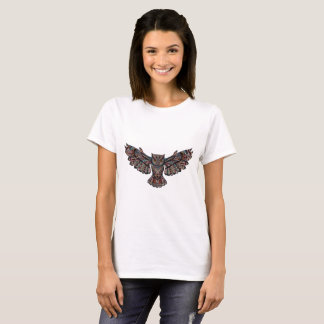 Metallic Artsy Owl T-Shirt