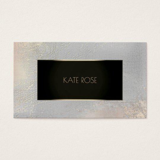 Metallic Black Champaign Gold Gray Glass Frame Vip
