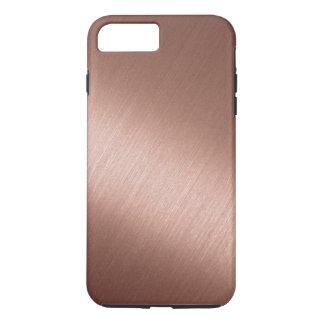 Metallic bright copper iPhone 8 plus/7 plus case