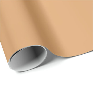 Metallic Bronze-Colored Wrapping Paper