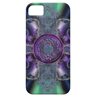 Metallic Celtic Fractal Grid iPhone 5 Covers