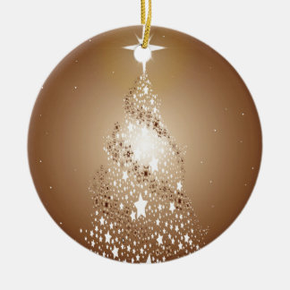 Metallic Christmas Tree Christmas Ornament