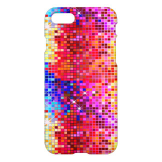 Metallic Colorful Sequins Look Disco Mirrors iPhone 7 Case