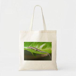 Metallic Cool Skink Niveoscincus Metallicus Budget Tote Bag
