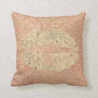 Metallic Crystals Rose Gold Makeup Foxier Copper Cushion