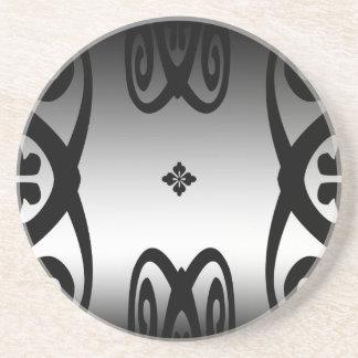 Metallic Curlicues Coaster