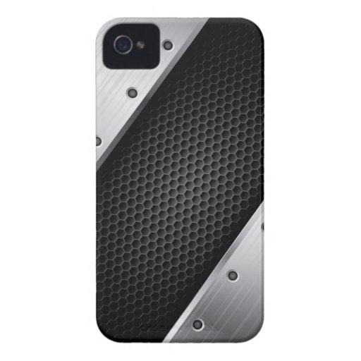 Metallic design v.1 iPhone 4 covers