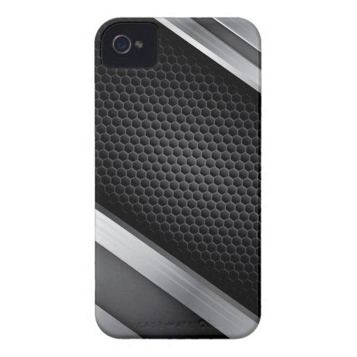 Metallic design v.2 iPhone 4 cases