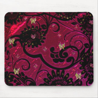 """""""Metallic Floral's"""" Electrical products"""".* Mouse Pad"""