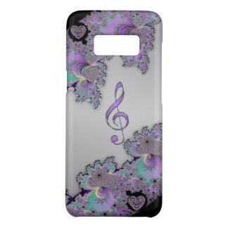 Metallic Fractal Music Clef Case-Mate Samsung Galaxy S8 Case