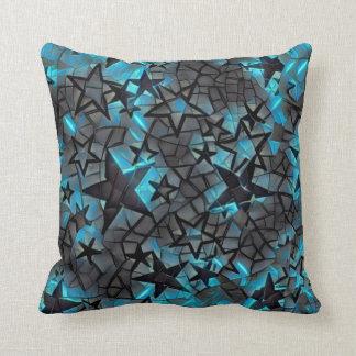Metallic Galaxy Cushion