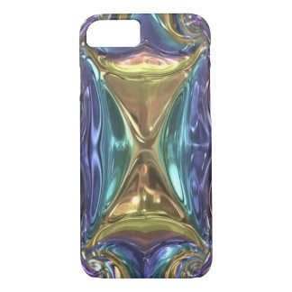 Metallic Glass iPhone 7 Barely There Case