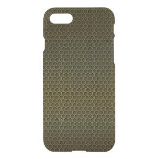 Metallic Gold Graphite Honeycomb Carbon Fibre iPhone 7 Case
