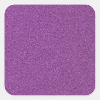 Metallic Grape Square Sticker