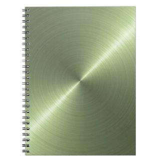 Metallic Green Notebook