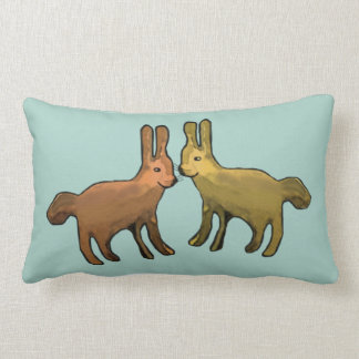Metallic Jackrabbits Cushions