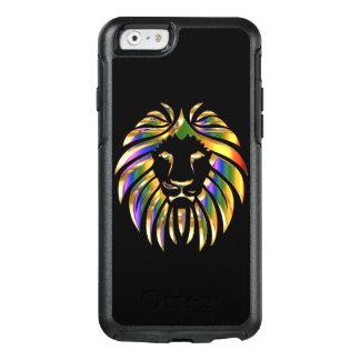 Metallic look lion OtterBox iPhone 6/6s case