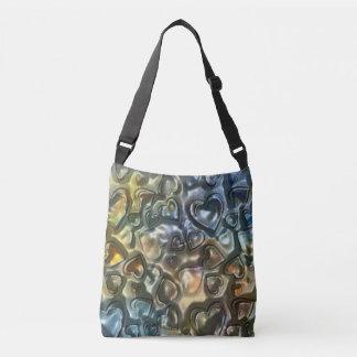 Metallic Love Crossbody Bag