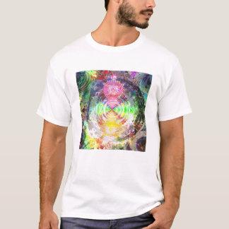Metallic Mandelbrot 1d (dt) T-Shirt