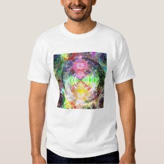 Metallic Mandelbrot 1d (dt) Tee Shirt
