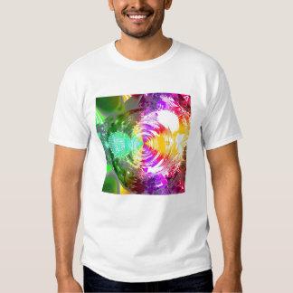 Metallic Mandelbrot 3b (t) T Shirt