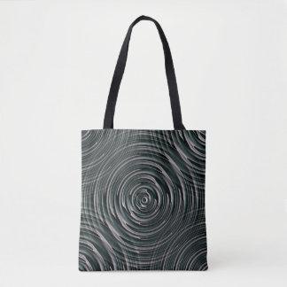 Metallic Motion Tote Bag