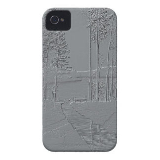 """Metallic"" Nature iPhone 4 Case-Mate"