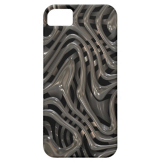 Metallic Ooze - Cool Liquid Metal Look Pattern Barely There iPhone 5 Case