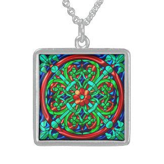 Metallic Pattern 6 Pendant