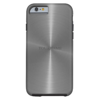 Metallic personalized iPhone 6 case