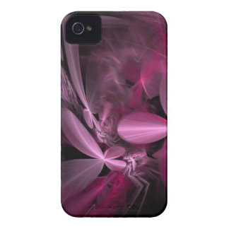 Metallic Pink flower Petals Case-Mate iPhone 4 Case
