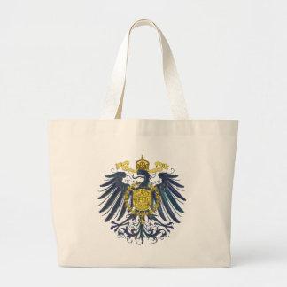 Metallic Preussian Eagle Large Tote Bag