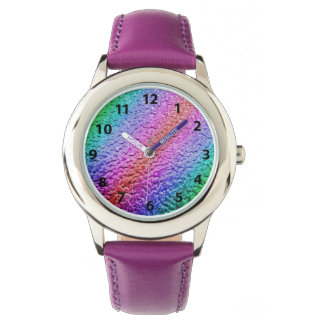 Metallic Psychedelic Colors Watch