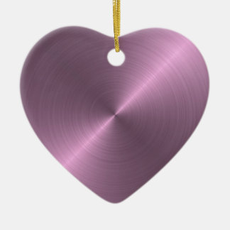 Metallic Purple Christmas Ornament
